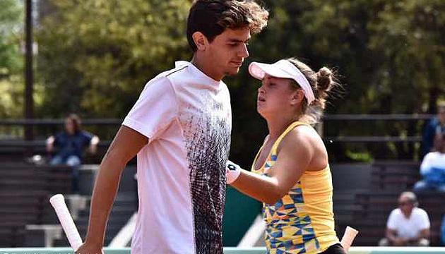 Юнацька Олімпіада: українки Дьома і Білокінь залишили турнір ITF у міксті