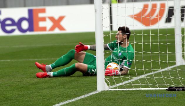 Динамівець Бойко - кращий воротар Європи за кількістю