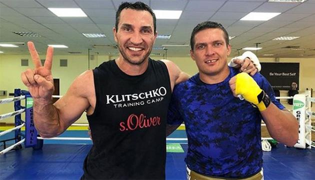 Владимир Кличко: Беллью будет противостоять идеальный боксер Александр Усик