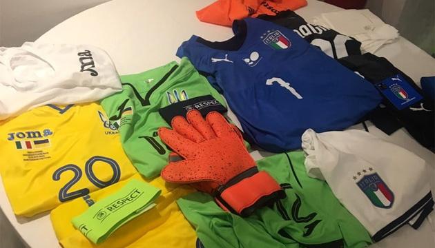 Футболісти збірної України проти Італії гратимуть у жовтому