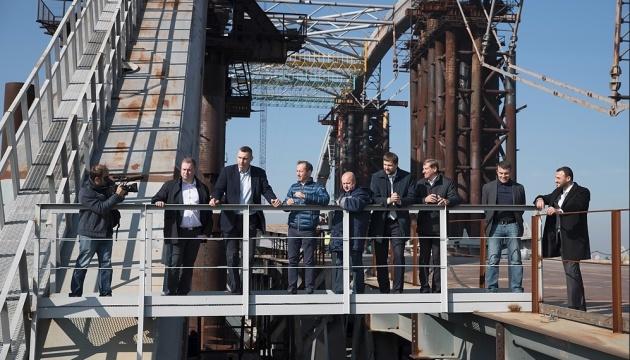 Новый мост на Троещину откроют через два года - Кличко