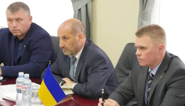 Куць встретился с представителями Совместной миссии ЕС и ПРООН
