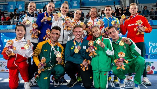 Juegos Olímpicos de la Juventud: El gimnasta Chepurnyi gana el cuarto oro para Ucrania