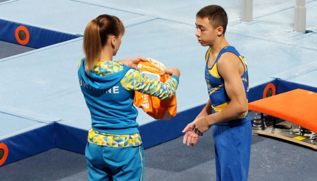 Nazar Chepurnyi, medallista de plata de los Juegos Olímpicos de la Juventud