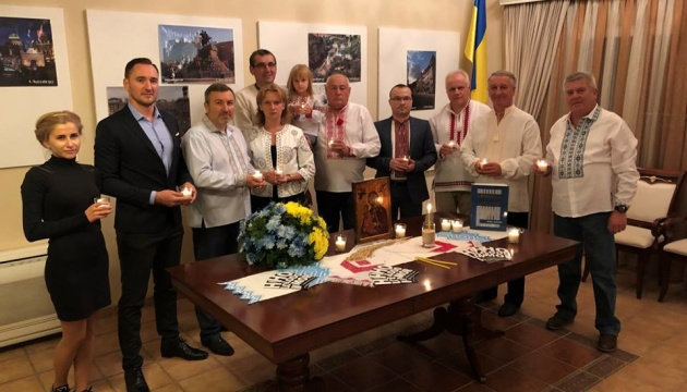Свічки пам'яті за жертвами Голодомору запалали в Чорногорії