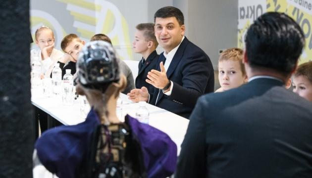 Groysman: Ucrania muestra grandes resultados en la esfera de la innovación