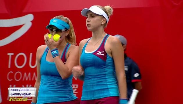 Теннис: Надежда Киченок пробилась в парный полуфинал турнира WTA в Азии