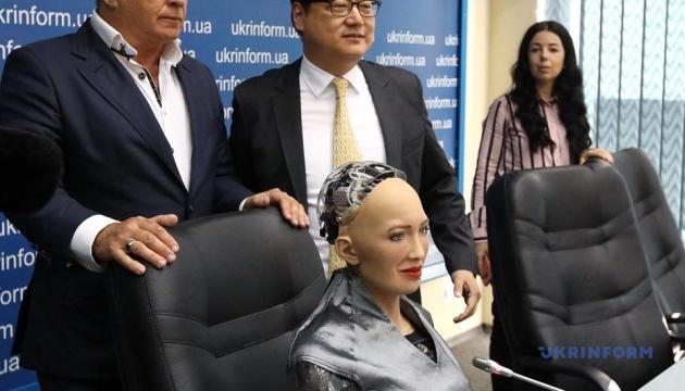 Робот Софія вважає себе громадянином світу