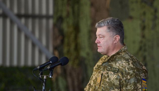 Сотні ветеранів АТО готові стати до лав армії у разі агресії Росії - Порошенко
