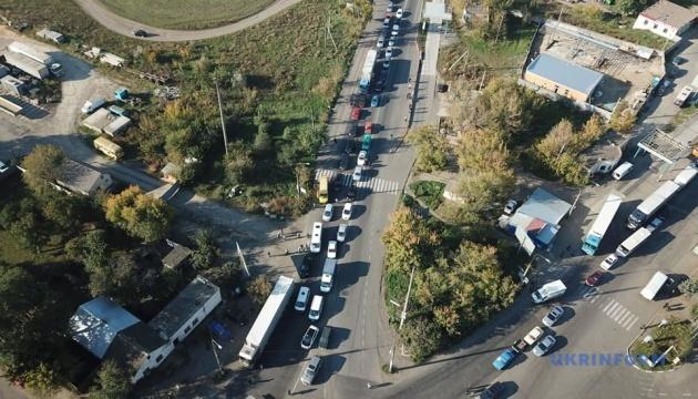 Автомобилисты Одесчины провели акцию протеста против подорожания топлива