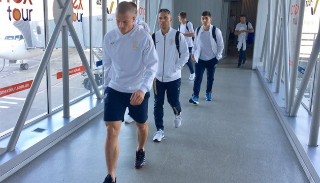 Футболисты сборной Украины прибыли в Харьков после матча в Генуе