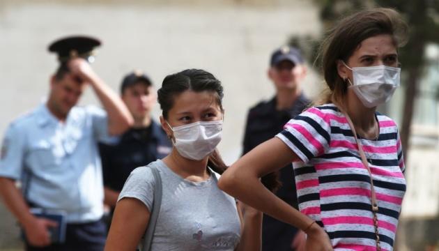 В оккупированном Армянске не разрешили митинг в марлевых повязках - соцсети