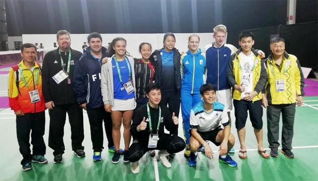 Бадмінтон: Прозорова вийшла у фінал ЮОІ-2018 у командних змаганнях