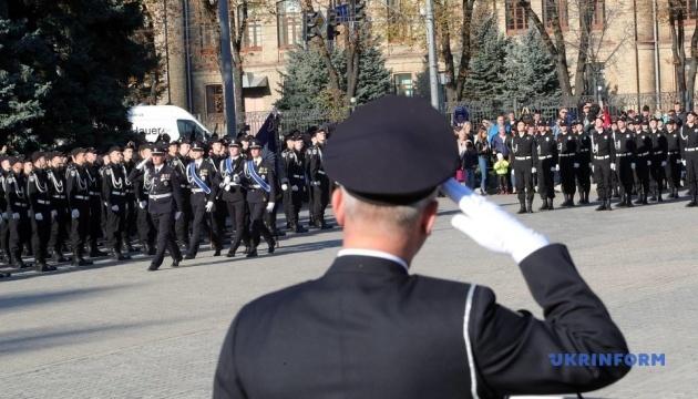 У Києві курсанти склали поліцейську присягу