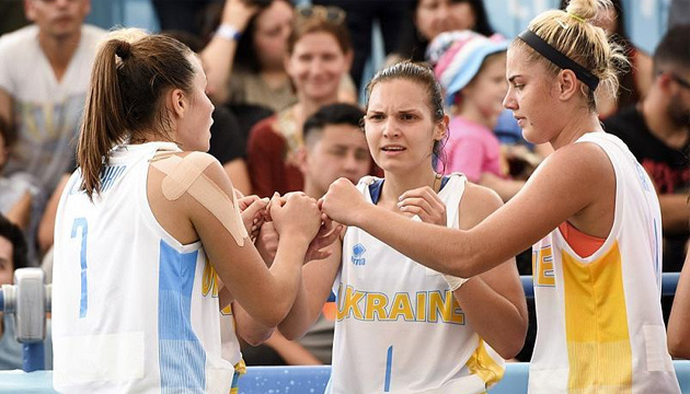 Баскетбол 3х3: сборные Украины сыграют заключительные матчи в группе на ЮОИ-2018