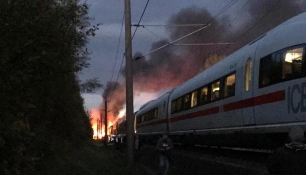 На ходу загорівся потяг Кельн-Франкфурт, евакуювали понад 500 пасажирів