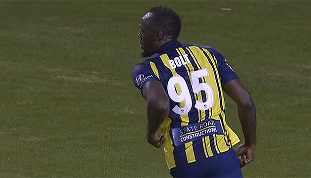 Усейн Болт відзначився першими голами в професіональному футболі