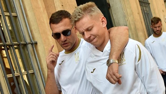 Зінченко відмітив гру воротаря збірної України П'ятова у поєдинку з Італією
