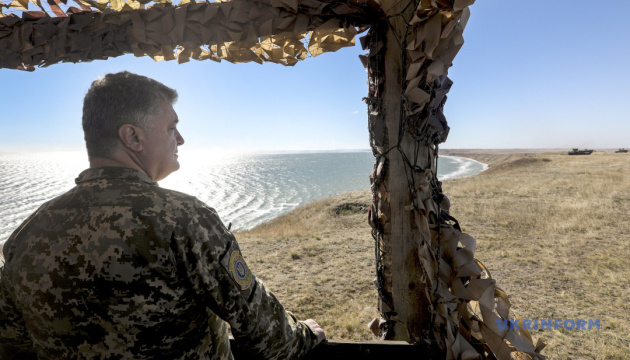 Poroshenko: Participation in Trident Juncture exercises strengthens potential of Ukrainian army
