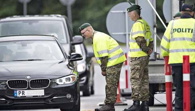 Данія продовжила контроль на кордоні з Німеччиною
