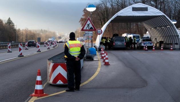 Германия продлила контроль на границе с Австрией