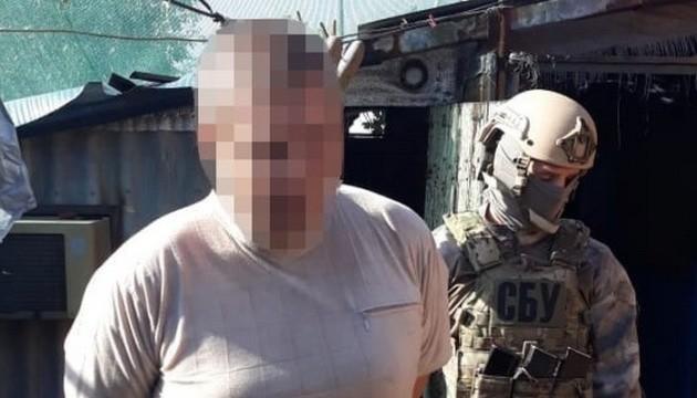 На Донетчине СБУ задержала оккупанта