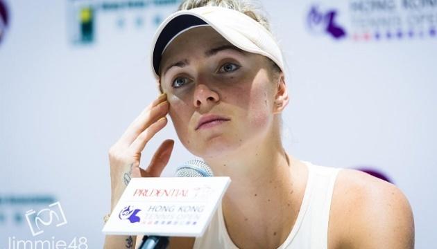 Свитолина: Я не смогла показать даже 20 процентов того тенниса, в который умею играть