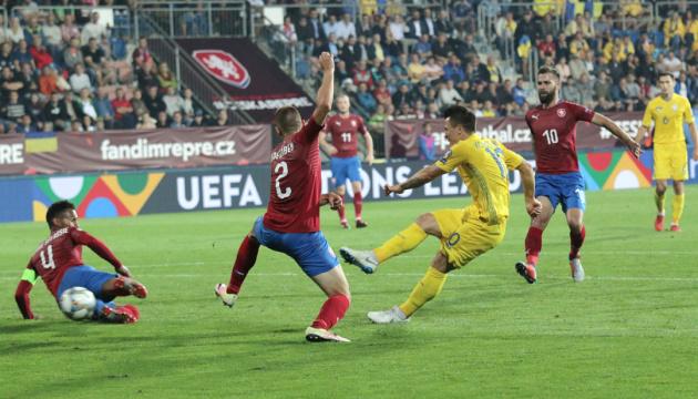 Ничья в матче с Чехией гарантирует Украине победу в группе Лиги наций