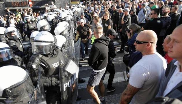 Гей-парад в Люблине пытались сорвать националисты