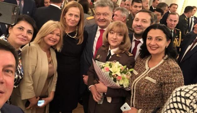 Президент України вперше присвоїв жінці звання генерала