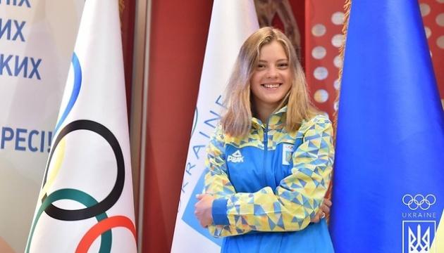 София Лыскун завоевала серебряную медаль в прыжках в воду на юношеской Олимпиаде