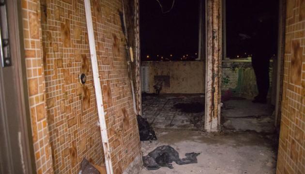 В киевской многоэтажке произошел взрыв