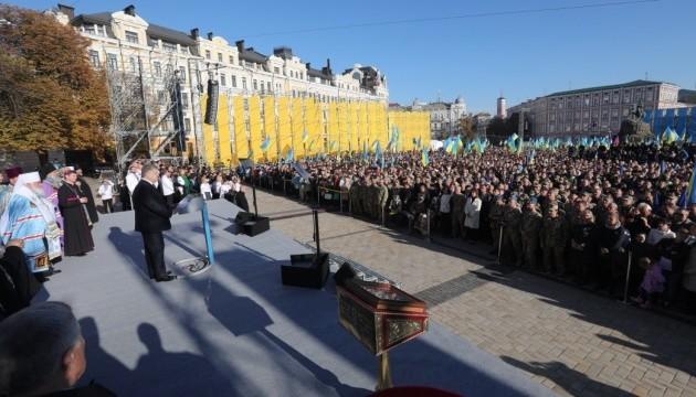 """Порошенко сподівається, що на Соборі не буде """"на двох українців три гетьмани"""""""
