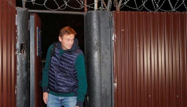 Навальный вышел на свободу после 50 суток ареста