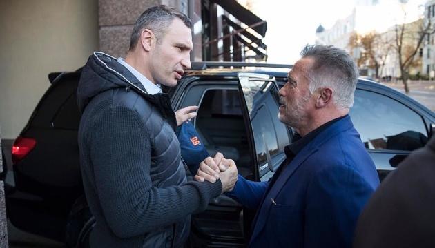 I'll be back: Шварценеггер влюбился в Киев и обещает вернуться