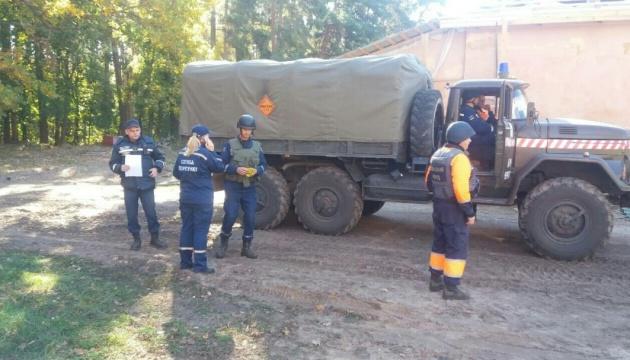 На арсенале в Ичне продолжают тушить очаги пожара — ГСЧС