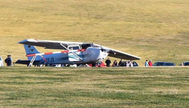 В Германии самолет упал на толпу - трое погибших