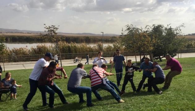Українці Анкари відзначили Покрову козацькими забавами