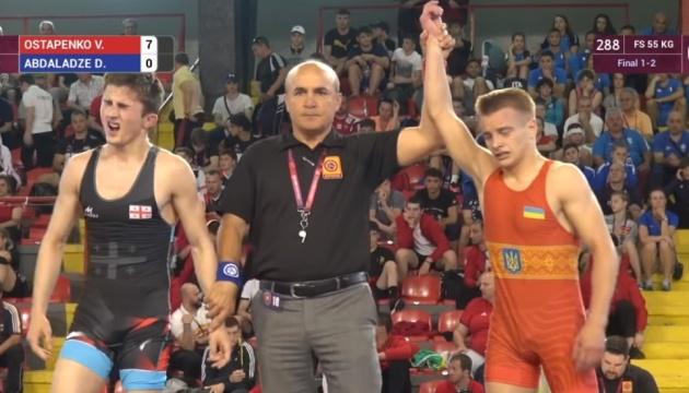 Владислав Остапенко завоевал «бронзу» в вольной борьбе на юношеской Олимпиаде