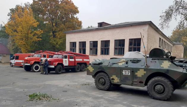 На арсенале под Ичней детонация боеприпасов не наблюдается - ГСЧС