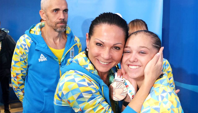 Анастасия Бачинская завоевала вторую