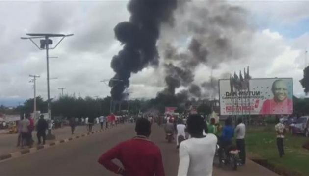 Кількість жертв від вибуху на нафтопроводі в Нігерії зросла до 60