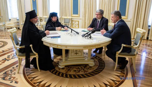 Розрив РФ із Константинополем свідчить про правильність українського шляху — Порошенко