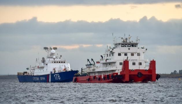 Росія перекинула в Азовське море два кораблі  берегової охорони ФСБ