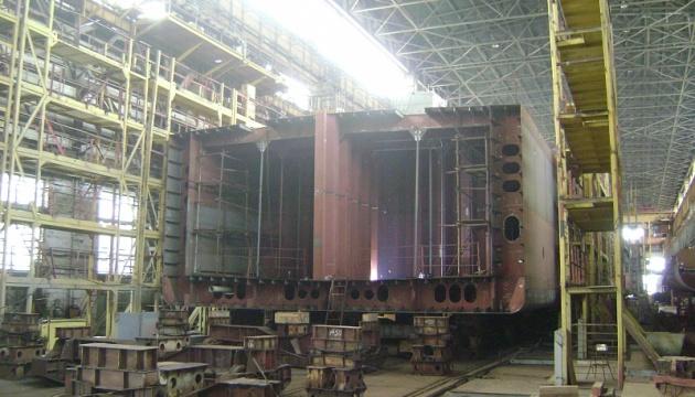 В Николаеве строят танкер-химовоз по заказу голландской компании
