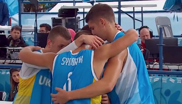 Украинцы вышли в полуфинал юношеской Олимпиады в турнире по баскетболу 3х3