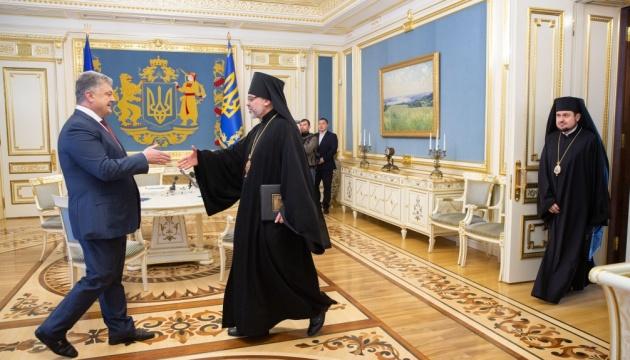 El Patriarca Bartolomé I agradece al presidente por sus esfuerzos para unir a los cristianos ortodoxos en Ucrania