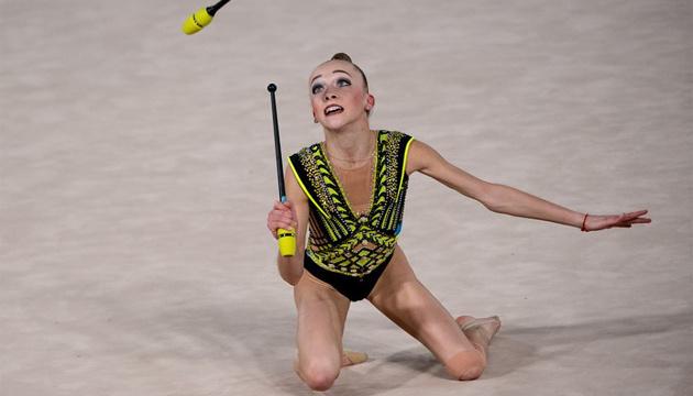 Украинская грация Пограничная стала вице-чемпионкой юношеской Олимпиады