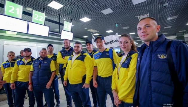 Украинская сборная отправилась в Сидней на Игры непокоренных