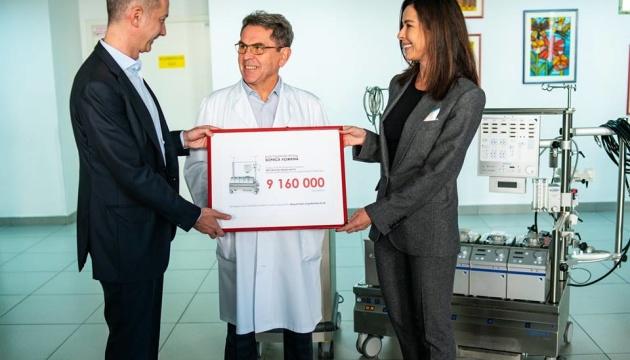 Boris Lozhkin Foundation has donated equipment worth UAH 9 million to the Pediatric Cardiology Center